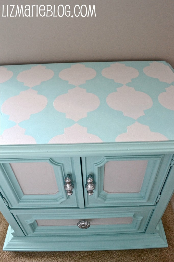 Paint Tip #1 & A Striped Nightstand