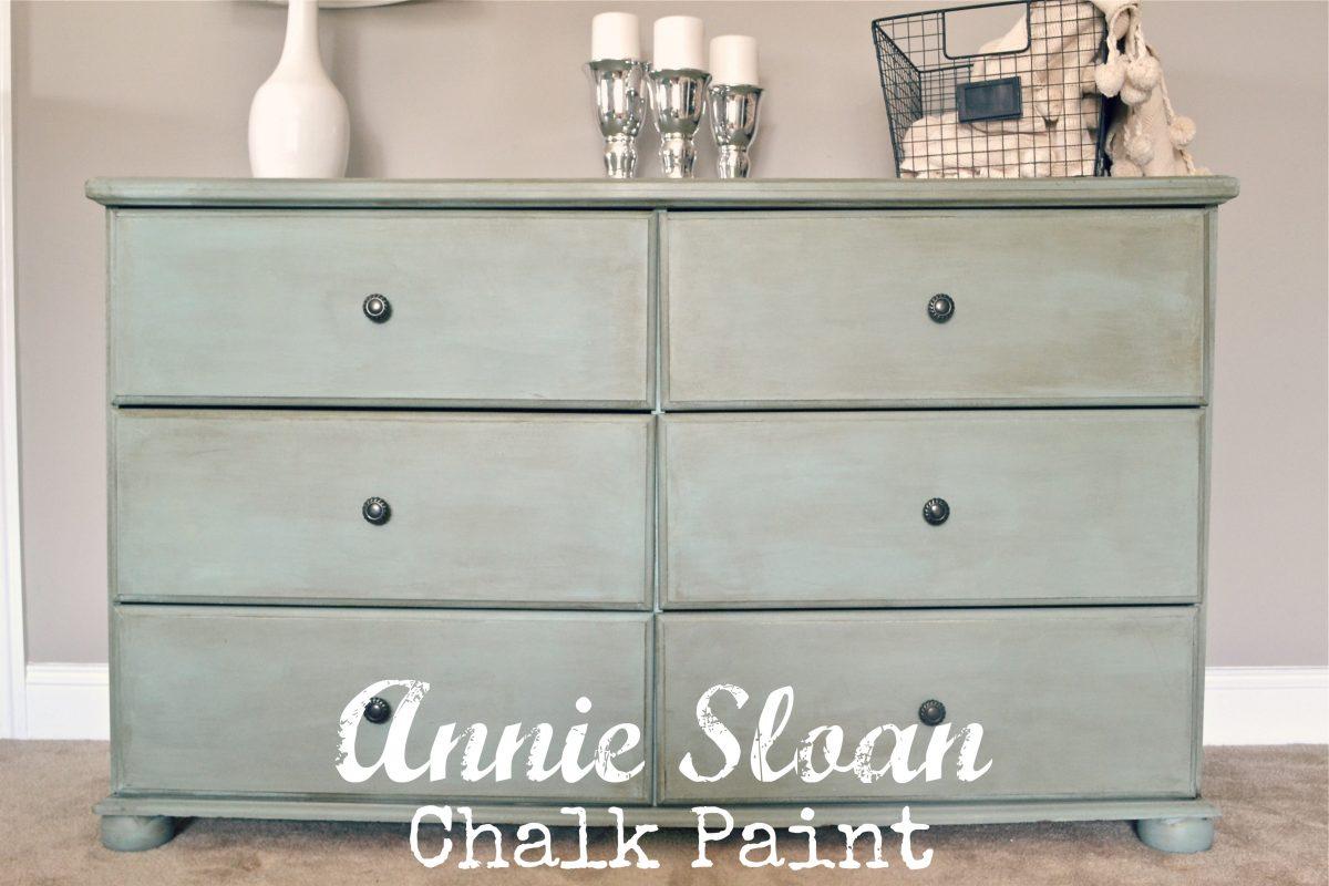 Homemade Chalk Paint Vs Annie Sloan