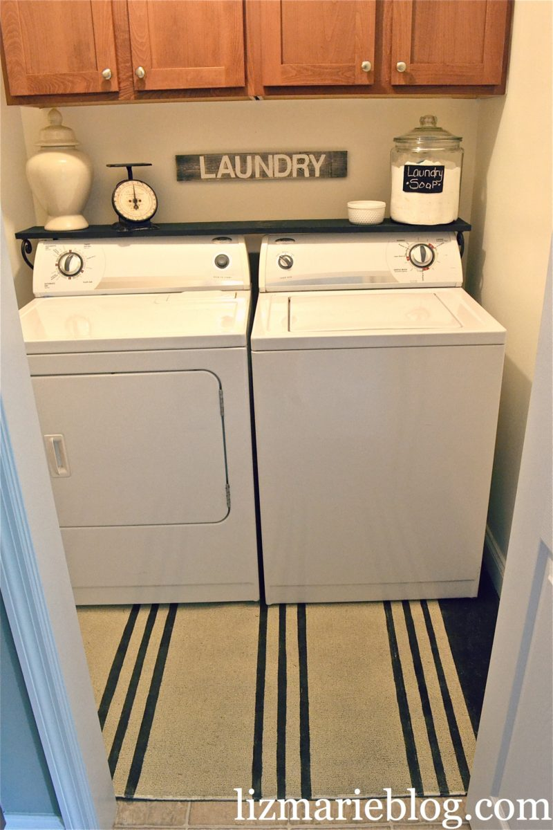laundry room makeover liz marie blog