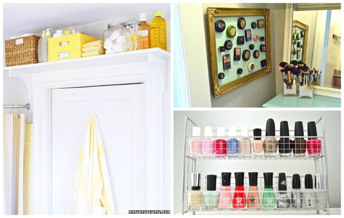 Maximizing small space living liz marie blog - Maximizing space in a small bathroom collection ...