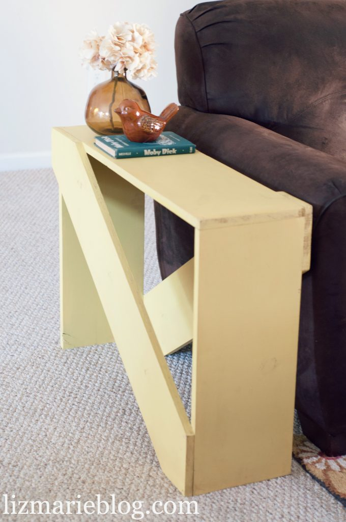 diy 5 board end table. Black Bedroom Furniture Sets. Home Design Ideas