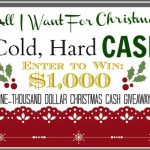All I Want For Christmas Is Cash!