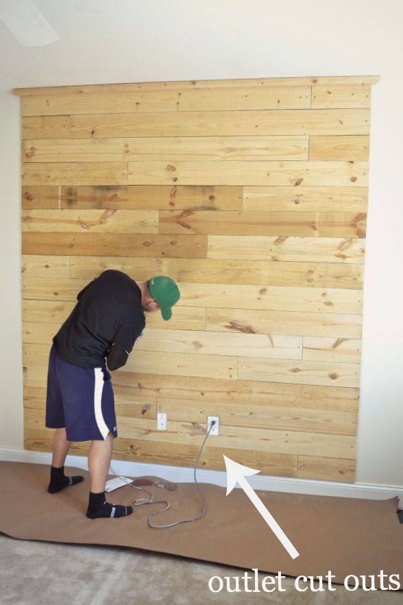 Wood Panel Headboard Diy. Gallery Of Full Size Of Lampswooden Wall ...