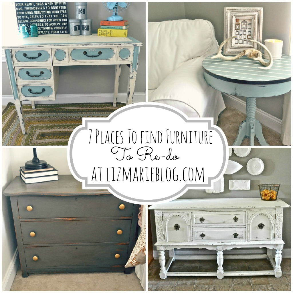 Where To Find Furniture To Paint- Lizmarieblog.com