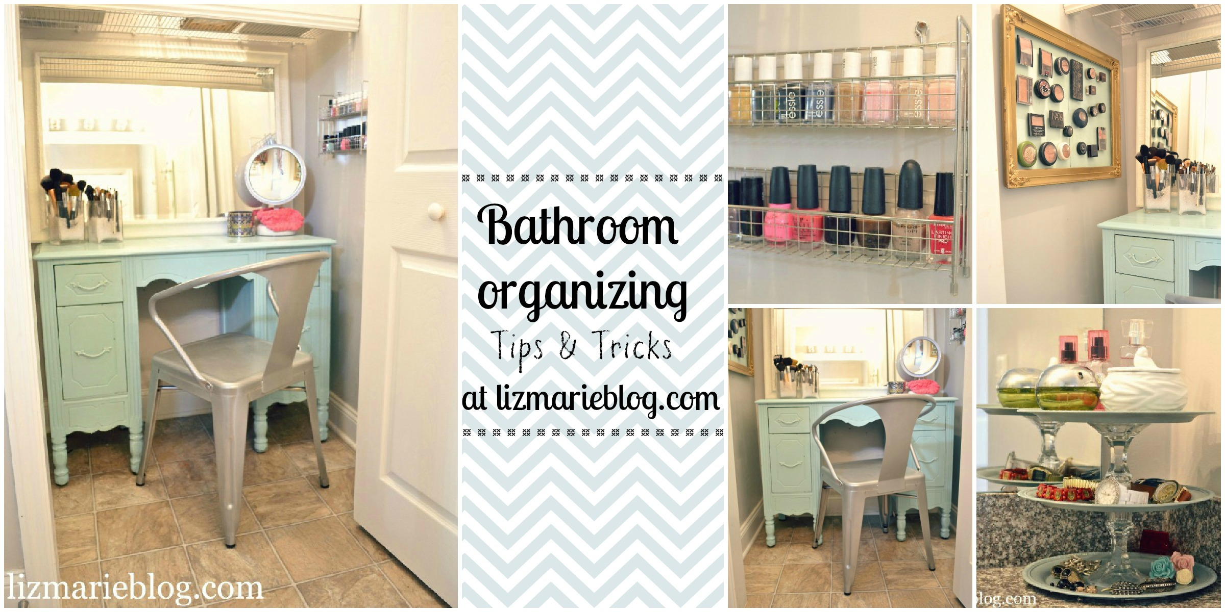 Master bathroom organizing ideas liz marie blog Organizing ideas for small bathrooms