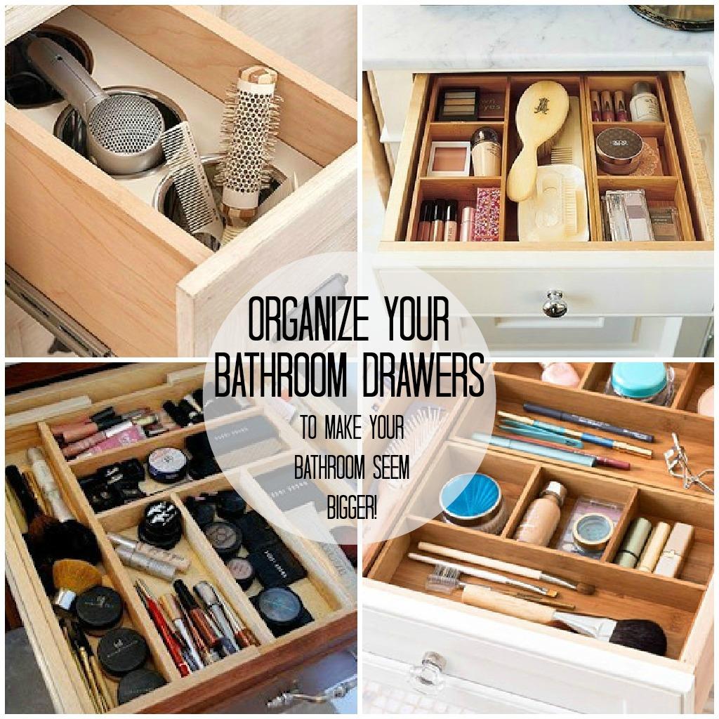 Organized Bathroom Ways To Organiz...