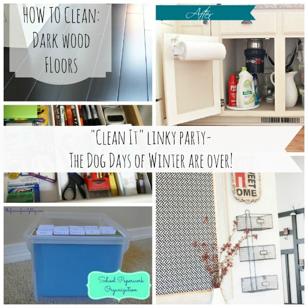 """Clean It"" Linky Party"