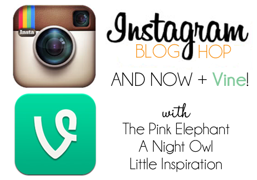 Instagram & Vine Blog Hop