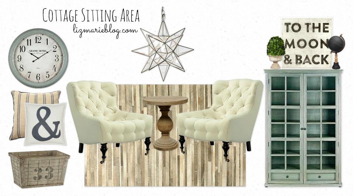 Inspiration Board – Cottage Sitting Area