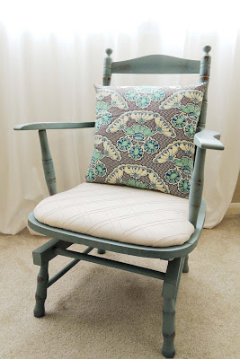 Rocking Chair & Pillow