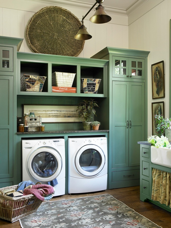 25 dreamy laundry rooms. Black Bedroom Furniture Sets. Home Design Ideas
