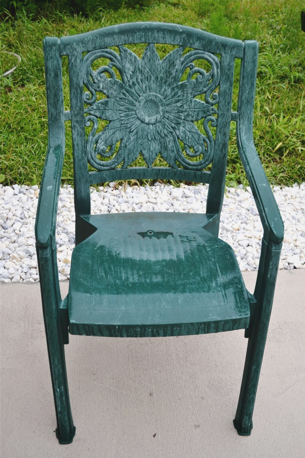 How To Paint Plastic Furniture A Makeover Liz Marie Blog