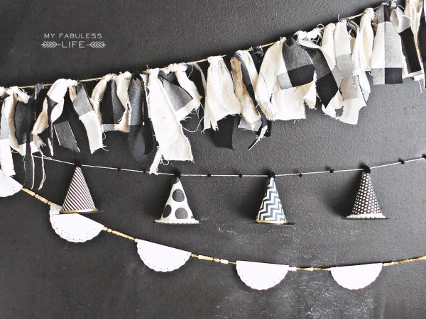 diy halloween garlands