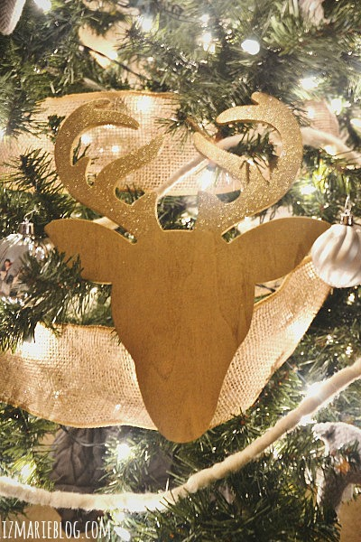 Christmas In a Minute – DIY Deer Ornament