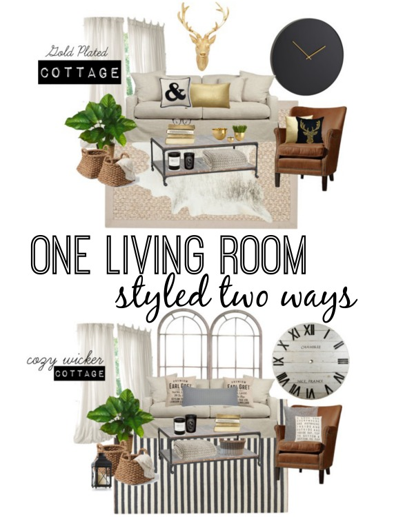 One Room Two Ways