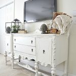 Buffet Makeover with DIY Chalk Paint