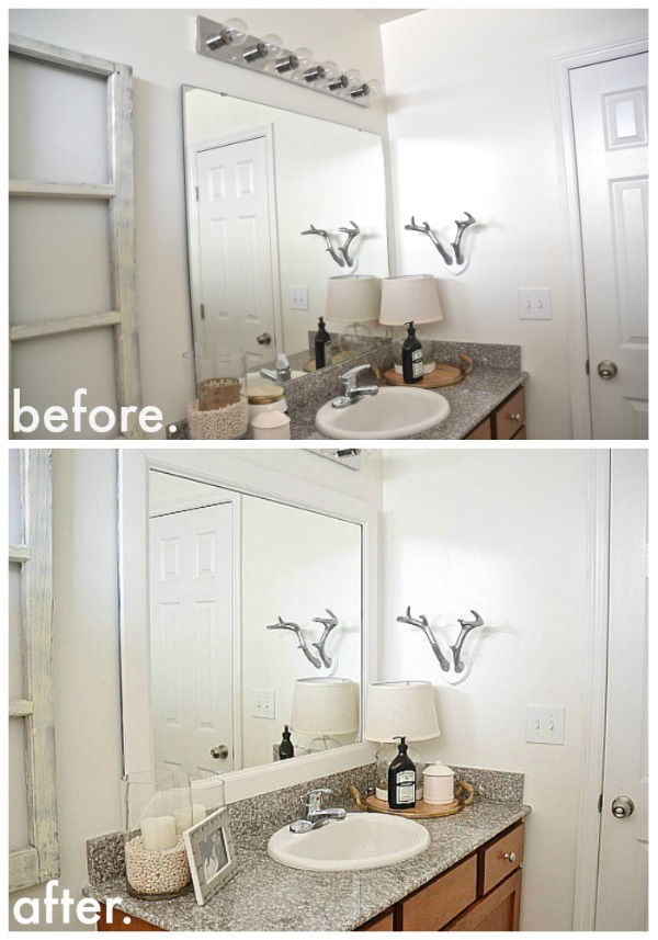 Unique I Am Going To Show You How To Frame A Bathroom Mirror Using A Miter Saw, But If You Dont Have Access To One, Dont Fret You Can Totally Get This Project Done Without One Ill Show You How To Do That, Too RELATED 31 Pottery Barn