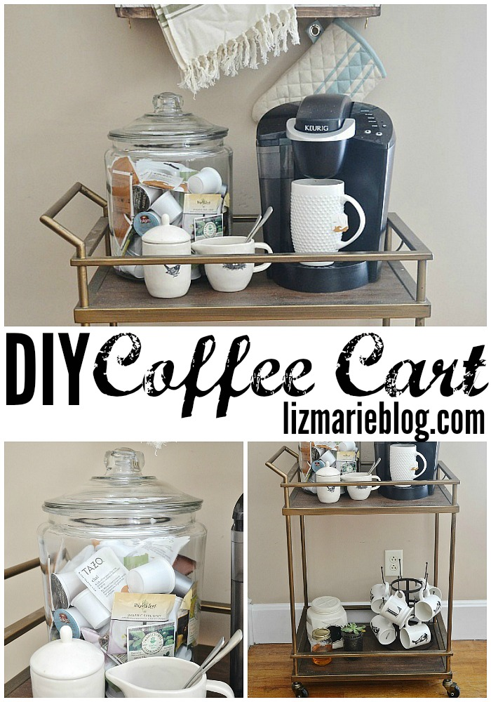 Diy coffee cart for Coffee carts for office