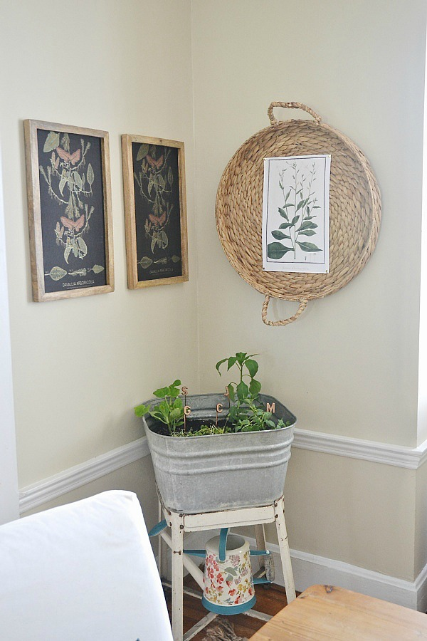 Art Basket Facebook : Diy basket wall art liz marie
