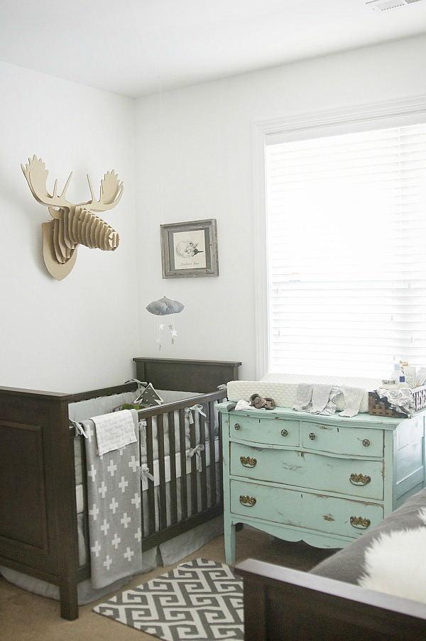 Gray Nursery Reveal
