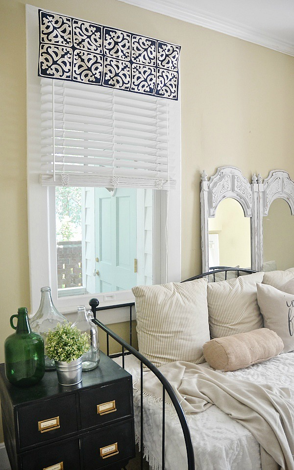 Simple Valances For Windows : Diy easy window valance no sew