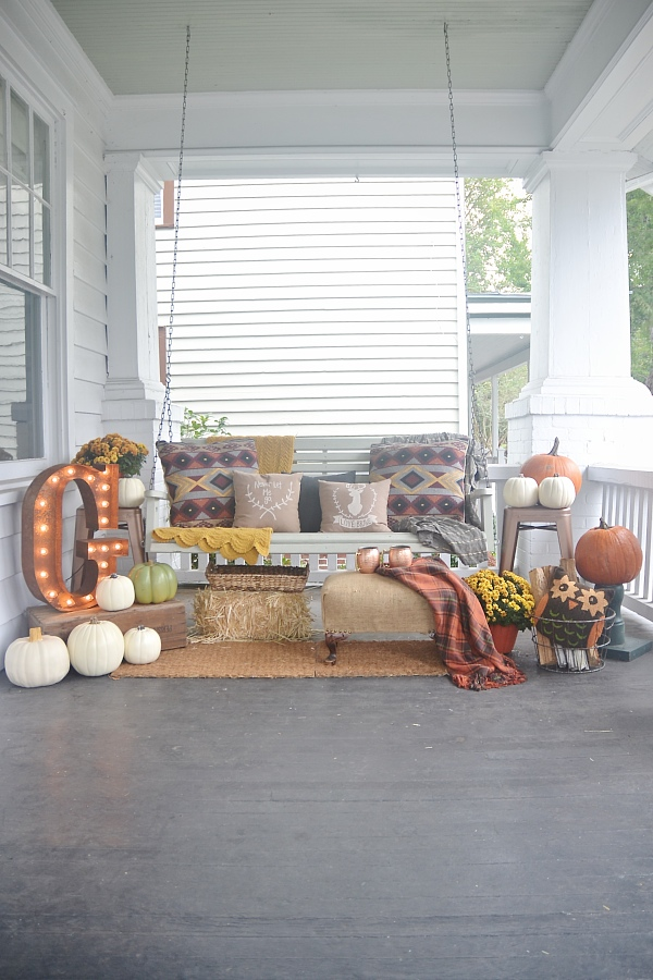 Liz Marie Blog Fall Porch
