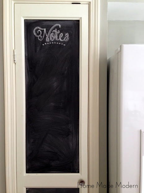 pantry door chalkboard (1)