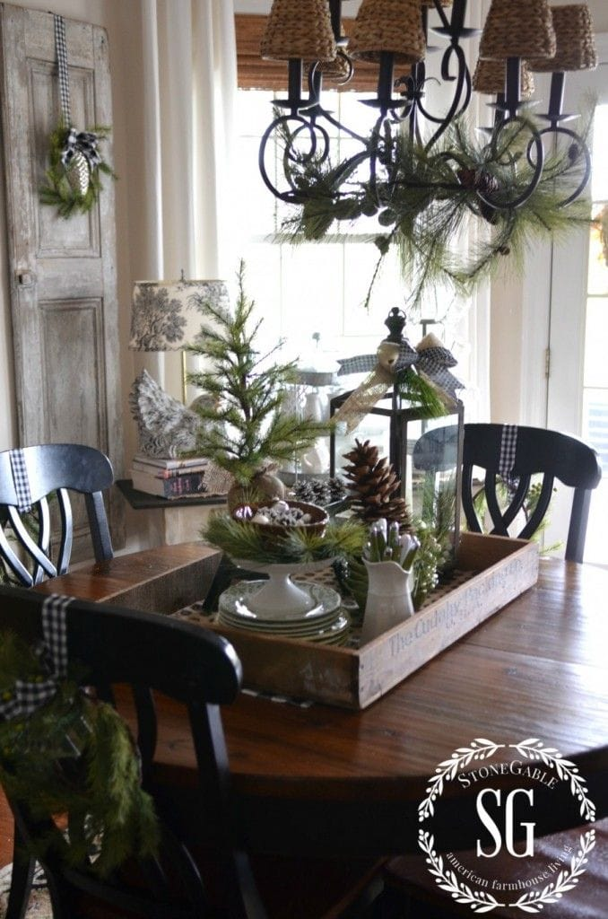 Winter Decorations Table Ideas More