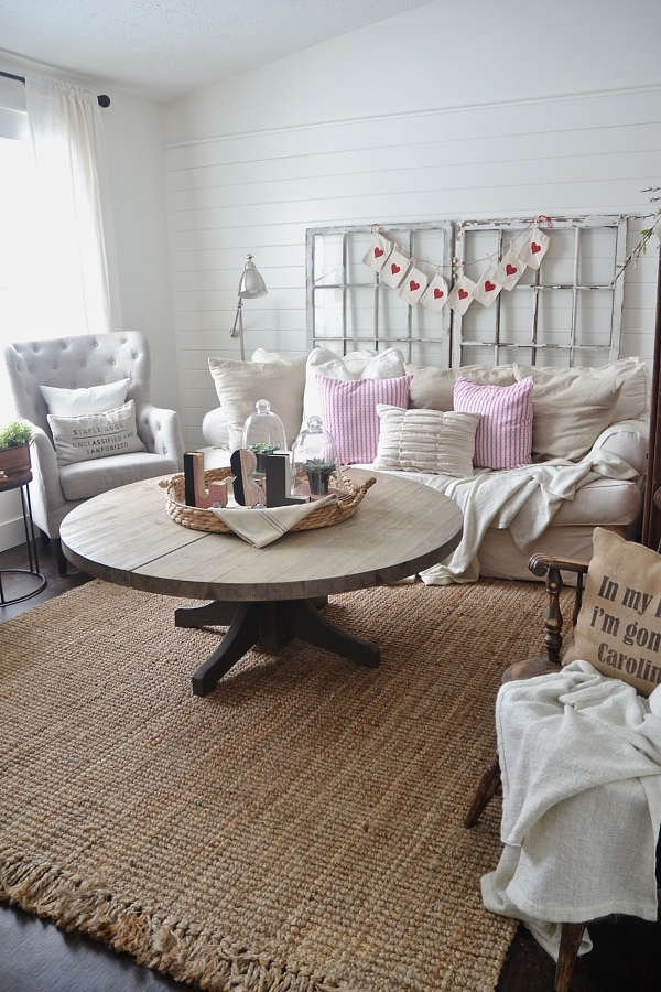 Valentines Day Living Room
