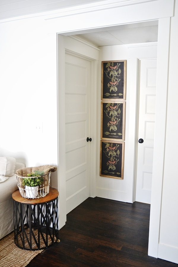 DIY Small Hallway Gallery Wall