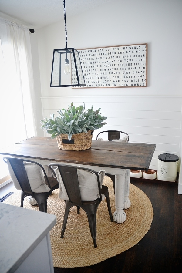 metal dining room chair | New Rustic Metal And Wood Dining Chairs