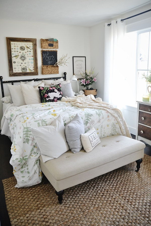 spring guest bedroom a thrifty affordable guest room makeover