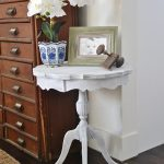 Beachy Side Table Makeover