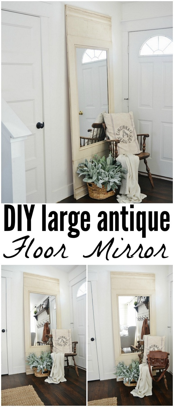 DIY Floor Mirror |