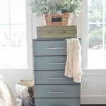 French Blue Dresser Makeover