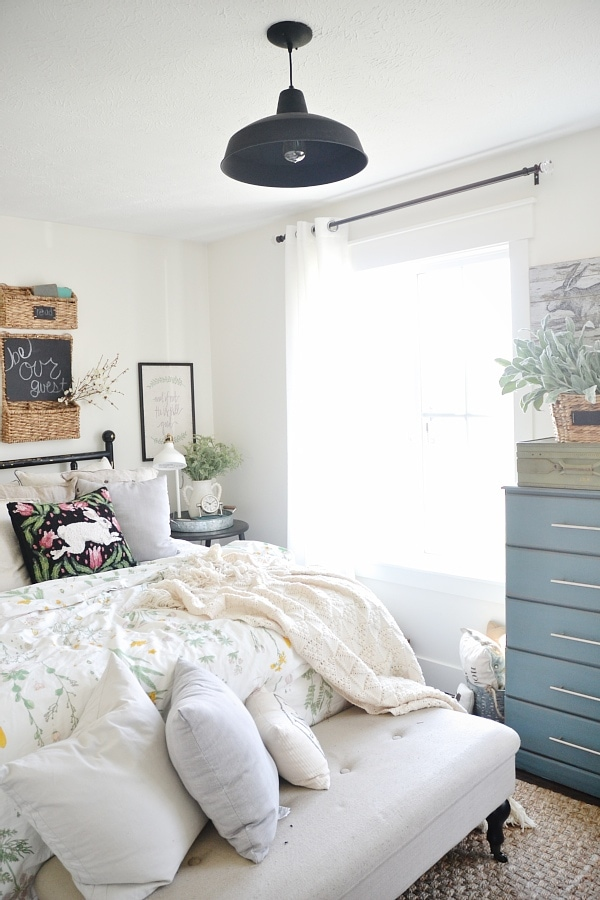 Farmhouse Bedroom Ceiling Light Diy