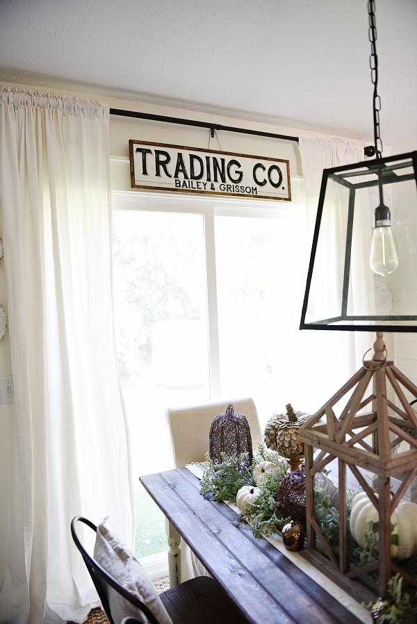 new dining room sign - liz marie blog