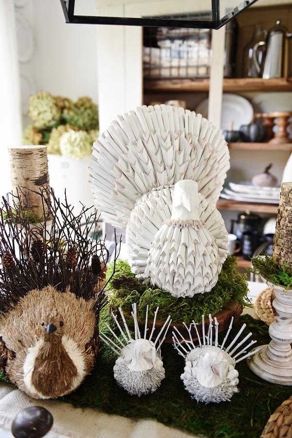 Turkey Makeover – Neutral Thanksgiving Decor