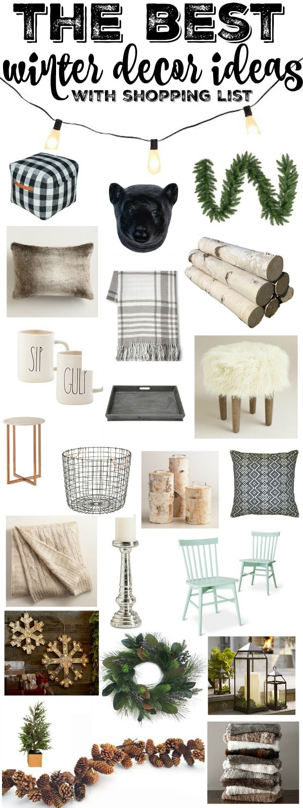 Winter Decor Inspiration