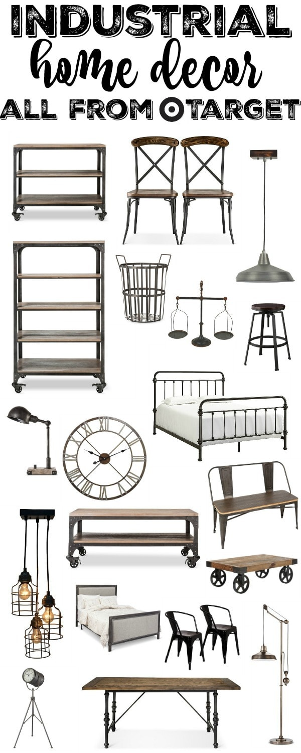 Industrial Furniture Home Decor From Target Liz Marie Blog