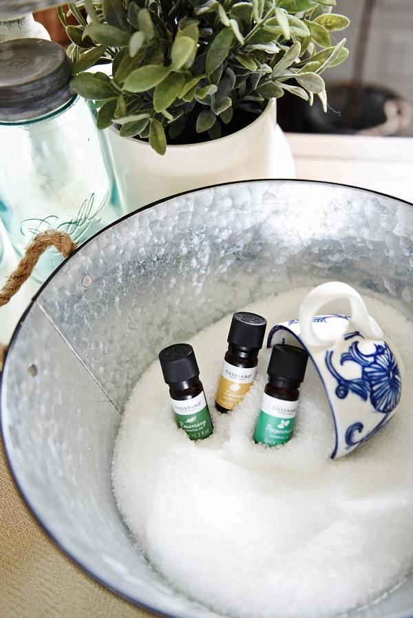 DIY Epsom Salt Bath Soak
