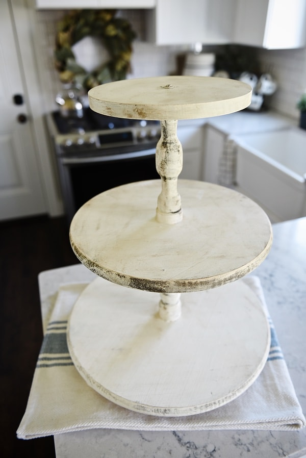 59 Incredibly Simple Rustic Décor Ideas That Can Make Your: DIY Three Tiered Tray