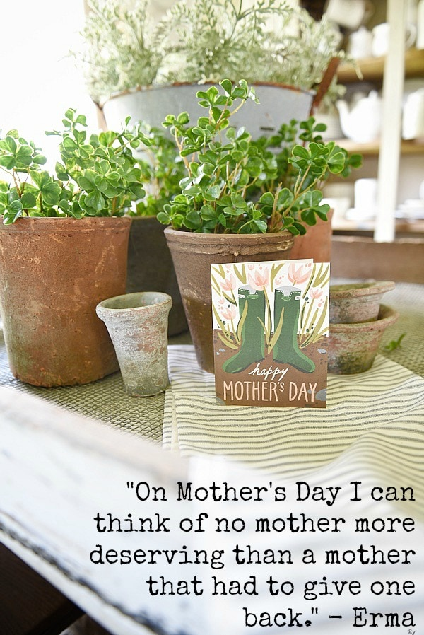 You are a mom - Happy Mothers day to all moms in all stages of Motherhood.