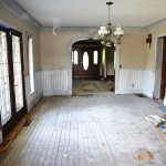 Dining Room Makeover – Priming The Trim!