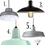 Farmhouse Barn Light Pendants