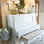 Piano Decor – Farmhouse Living Room