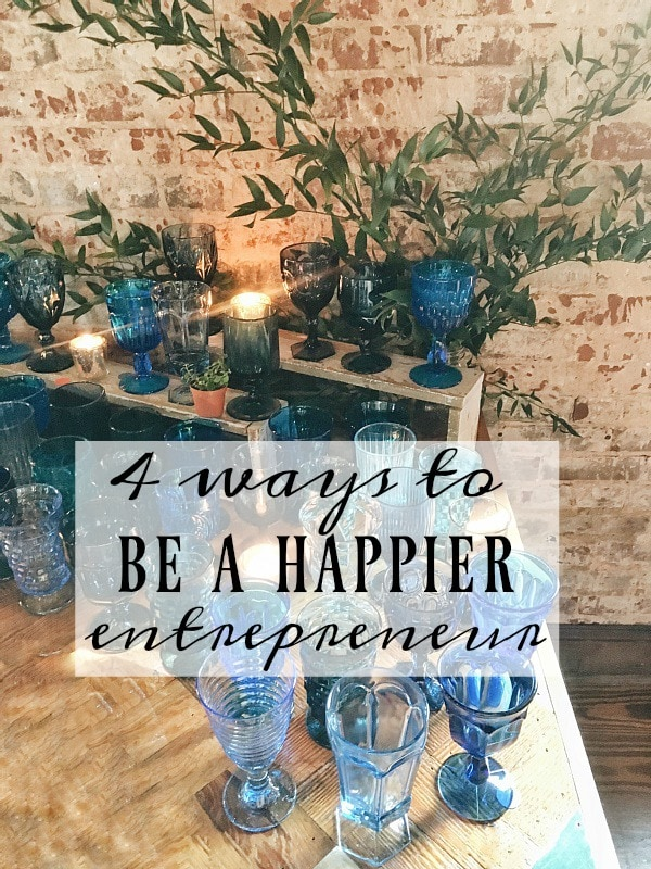 4 great simple tips on how to be a happier entrepreneur - 4 tips to be happier & more successful!