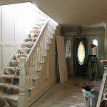 Front Living Room – Trim is Primed!