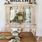 Primitive Dining Room Hutch