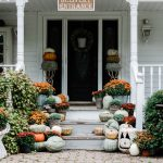 Rustic Fall Farmhouse Steps